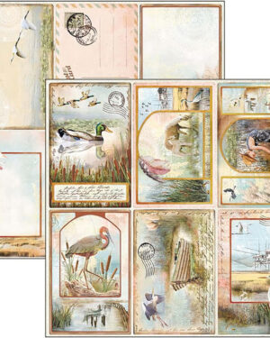 DELTA POSTCARDS PAPER SHEET 12″X12″