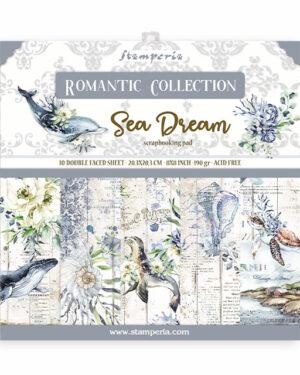 Stamperia Romantic Sea Dream 8×8 Inch Paper Pack (SBBS35)