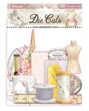 Stamperia Threads Die Cuts (DFLDC35)