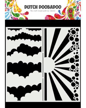 470.784.002 – Mask Art Slimline Clouds