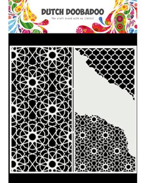 470.784.004 – Mask Art Slimline Cracked Patterns
