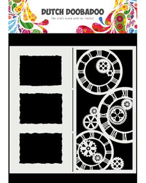 470.784.005 – Mask Art Slimline Clocks