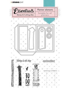 SL-PES-SCD02 – SL Stamp & Cutting Die Planner elements Planner Essentials nr.02