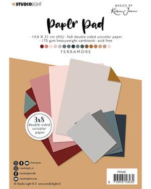 PPKJ05 – KJ Paper Pad Pattern Paper Terramore Basics by Karin Joan nr.5