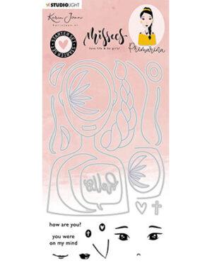 BASICSDCKJ06 – KJ Stamp & Cutting Die Starter set Primarina Missees Collection nr.6