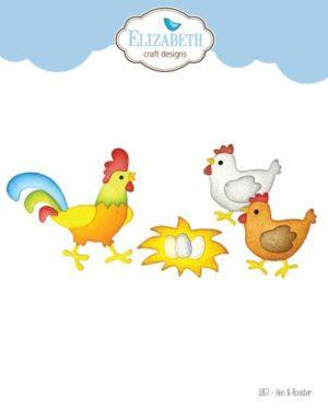 1857 – Hen & Rooster