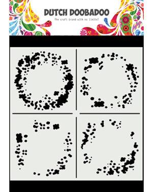 470.715.628 – Mask Art Circle Grunge