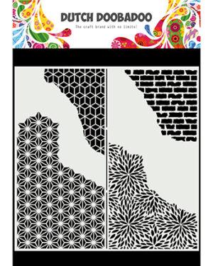 470.715.822 – Mask Art Slimline Cracked Patterns