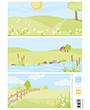 AK0086 – Eline's backgrounds pastel meadows