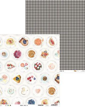 Piatek13 – Paper Around the table 06 P13-TAB-06 12×12