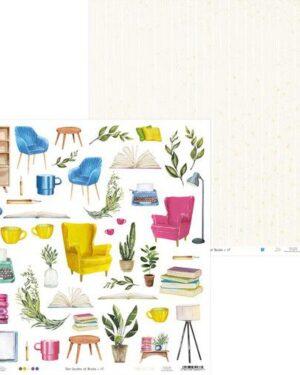 Piatek13 – Paper Garden of Books 07 P13-GAR-07 12×12
