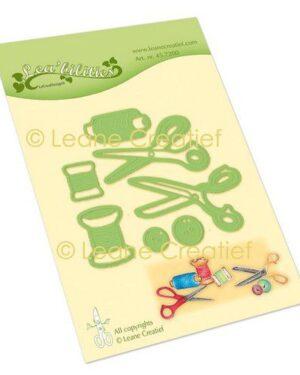 LeCrea – Lea'bilitie® Draad-knopen-scharen snij en embossing mal