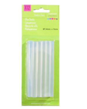 Vaessen Creative • Lijmpatronen Mini 7,4x100mm 12pcs
