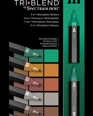 Spectrum Noir TriBlend Markers Woodland Shades