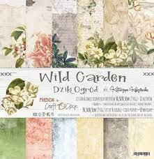 Craft O' Clock –  Wild Garden – Paperpad 30.5 x 30.5 cm