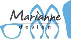 Marianne D Creatable Flipflops & zonnebril LR0477