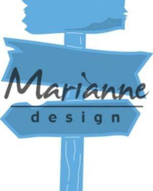 Marianne D Creatable houten wegwijzer LR0535