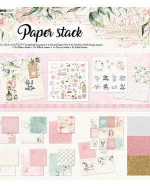SL-ALS-MPP01 – SL Paper Stack Pattern Paper Another Love Story nr.1