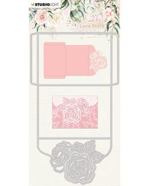SL-ALS-CD03 – SL Cutting Die Rose envelope Another Love Story nr.3