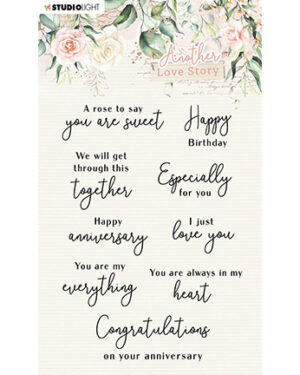 SL-ALS-STAMP02 – SL Clear Stamp Love-phrases Another Love Story nr.2