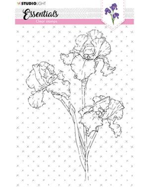 SL-ES-STAMP57 – SL Clear Stamp Iris Essentials nr.57