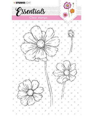 SL-ES-STAMP60 – SL Clear Stamp Cosmos Essentials nr.60