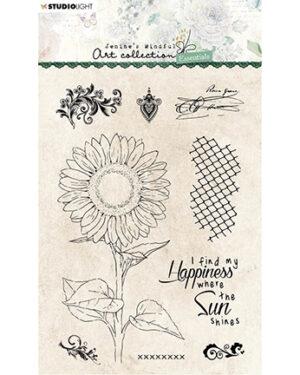 JMA-ES-STAMP66 – JMA Clear Stamp Sunflower Essentials nr.66