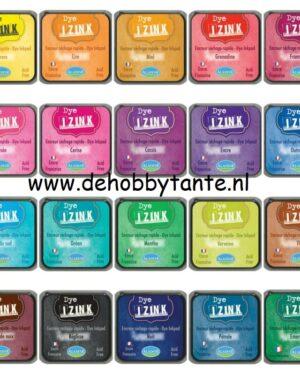Set Izink Dye inktpads