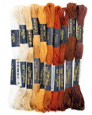268817-9904 – Borduurgaren – brown/beige/white