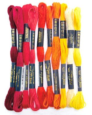 268817-9903 – Borduurgaren – red/orange/yellow