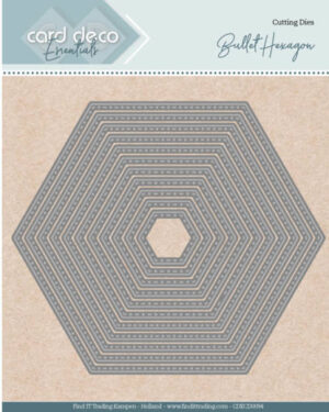 Card Deco Essentials – Nesting Dies – Bullet Hexagon