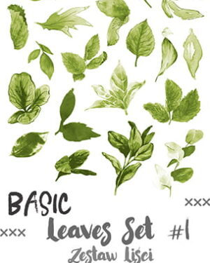 Craft O' Clock – Basic Leaves – SET 01