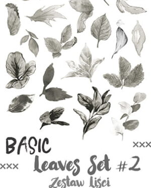 Craft O' Clock – Basic Leaves – SET 02