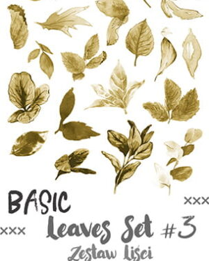 Craft O' Clock – Basic Leaves – SET 03