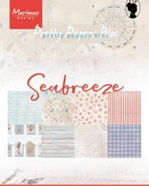 Marianne D Paper pad Seabreeze A5 PK9156