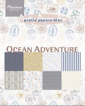 Marianne D Paperpad Ocean Adventure A5 PK9162