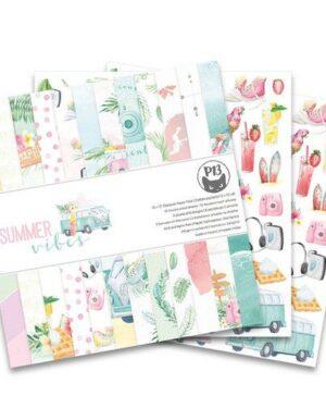 Piatek13 – Paper pad Summer vibes, 12×12''