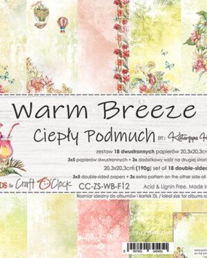 Craft O' Clock – Warm Breeze – Paperpad 20.3 x 20.3 cm