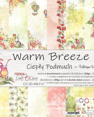 Craft O' Clock – Warm Breeze – Paperpad 30.5 x 30.5 cm
