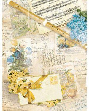 Studio Light Rice Paper Jenine's New Awakening nr.02 JMA-NA-RICE02 A4