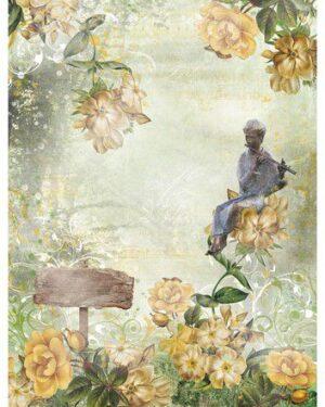 Studio Light Rice Paper Jenine's New Awakening nr.03 JMA-NA-RICE03 A4