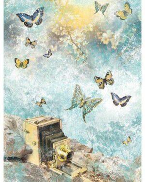 Studio Light Rice Paper Jenine's New Awakening nr.04 JMA-NA-RICE04 A4
