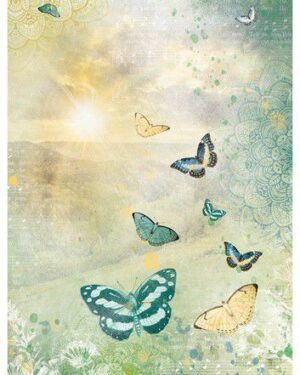Studio Light Rice Paper Jenine's New Awakening nr.07 JMA-NA-RICE07 A4