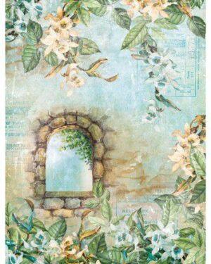 Studio Light Rice Paper Jenine's New Awakening nr.08 JMA-NA-RICE08 A4