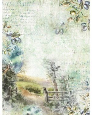 Studio Light Rice Paper Jenine's New Awakening nr.09 JMA-NA-RICE09 A4