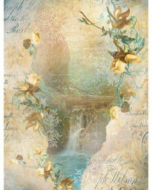Studio Light Rice Paper Jenine's New Awakening nr.10 JMA-NA-RICE10 A4
