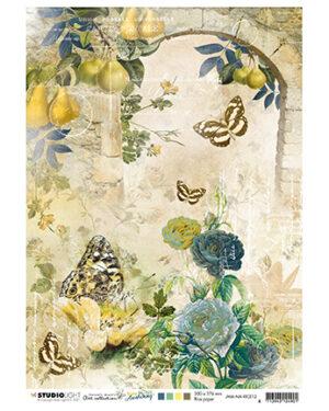 Studio Light Rice Paper Jenine's New Awakening nr.12 JMA-NA-RICE12 A4