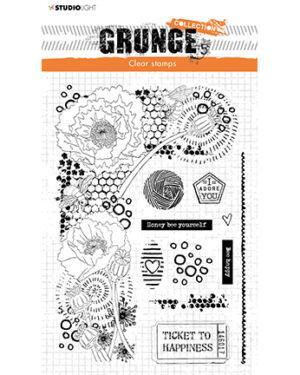 *Pre Order* SL-GR-STAMP42 – SL Clear Stamp Elements Grunge Collection nr.42