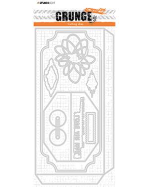 *Pre Order* SL-GR-CD27 – SL Cutting Die Envelope slimline Grunge Collection nr.27