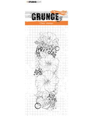 *Pre Order* SL-GR-STAMP35 – SL Clear Stamp Hibiscus Grunge Collection nr.35